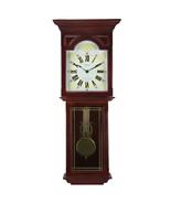 Bedford Clock Collection Redwood 23 Inch Readwood Oak Finish Wall Clock - $76.42