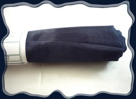 Navy Blue Shimmering Soft ORGANZA Fabric .75 x 45  Polyester - $1.50