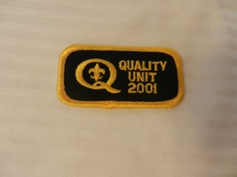 Boy Scouts of America Quality Unit 2001 Patch - $9.64