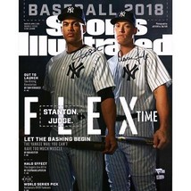 Aaron Judge & Giancarlo Stanton NY Yankees Signed 16x20 SI Reprint Photo... - $886.05