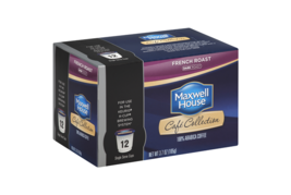 MAXWELL HOUSE CAFE COLLECTIONS FRENCH ROAST KCUPS - $20.39+