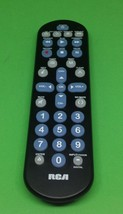 RCA Universal Remote Control - RCR4258R Tested Works No battery cover fa... - $5.00