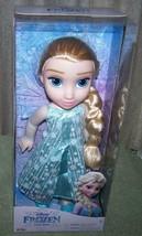 """Disney Frozen Elsa Doll 14""""H New - $18.88"""