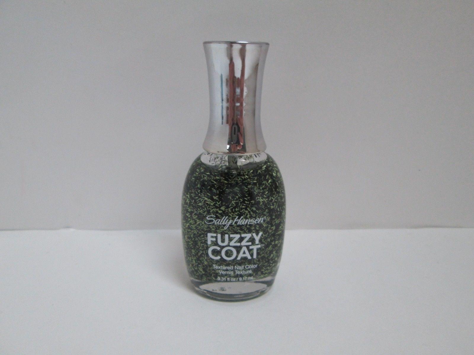 (2) SALLY HANSEN Fuzzy Coat #890 FUR-ANKENSTEIN Textured Nail Polish