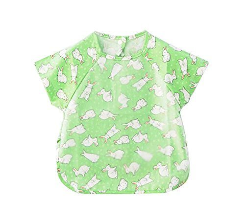 Simple Convenient Baby Waterproof Feeding Bib, 90-100cm Height, Rabbits