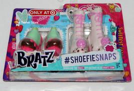 BRATZ Shopkins Shoe Shoefiesnaps, Sweetest Pair Ice Cream, 2 Pair Pkg, NEW - $9.49