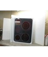 GE RANGE COOKTOP (WHITE & CHIPPED PAINT) PART# WB62T10606 - $195.00