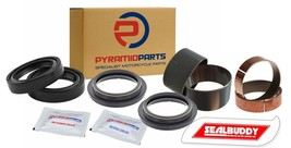 Fork Seals Wipers Bushes Suspension Overhaul Kit for Yamaha WR400 F 1998... - $53.86