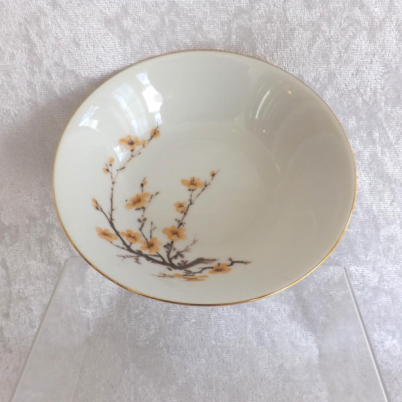 Bareuther Waldsassen Pair of Dessert Bowls Bavaria Pattern Fine China (Germany)