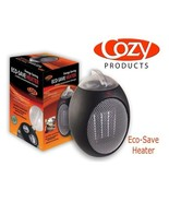 Cozy Space Heater Variable Speed Eco-Save Personal Heater 750 Watt 120 V... - $64.99