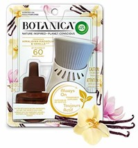 Botanica by Air Wick Plug in Scented Oil Starter Kit, 1 Warmer + 1 Refill, Himal