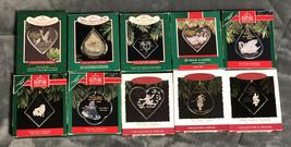 10 of 12 Hallmark Collectors Ornaments - Twelve Days of Christmas - 1984... - $44.54