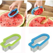 Creative Watermelon Shape Melon Cutter Mold Tool popsicle shape  Free ship - $6.62 CAD