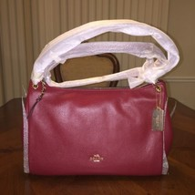 NWT Coach Mia Shoulder Bag in Cherry - £112.31 GBP