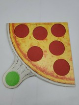PIZZA PARTY Board Game REPLACEMENT green Pizza ONLY Parker Brothers 1987 - $9.95