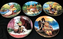 """Set of 5 M.I. Hummel """" Gentle Friends"""" 8"""" Porcelain Plates by The Danbur... - $44.99"""