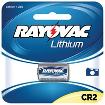 Rayovac 3-volt Lithium Cr2 Photo Battery, Carded (single) RVCRLCR21 - $18.78