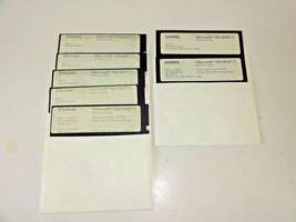 """Acbel Firenze Microsoft MS-DOS Operating System 5 1/4"""" Disks 1987/88 for... - $24.38"""