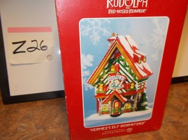 """Rudolph the Red Nosed Reindeer """"Hermey's Elf Dormitory"""" Christmas Village Lighte - $54.99"""