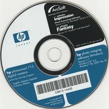 HP photosmart 715 digital camera software - $20.42