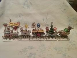 The M&M Christmas Train By The Danbury Mint - $125.00