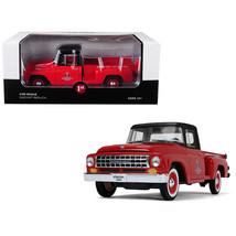 International C1100 International Trucks Pickup Truck Red with Black Top... - $71.62