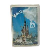 Vintage Walt Disney World Playing Cards Souvenir Deck 1970s VG Poker Gol... - $8.10