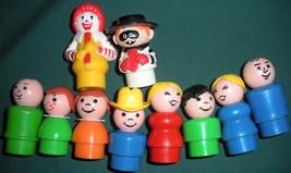 Vintage Fisher Price #2552 McDonald's Play Set Complete + BONUS!/VG++-EXC (N) image 3