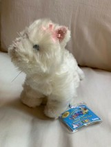 "GANZ Webkinz Lil' WHITE PERSIAN CAT 8"" Plush Stuffed Animal Used w/ TAGs... - $23.38"