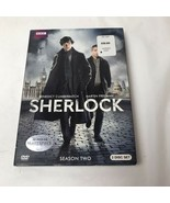 Sherlock Complete Series 2 DVD 2012 2-Disc Set Benedict Cumberbatch BBC - $11.87