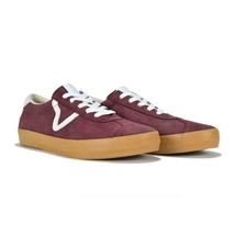 VANS Pro Epoch Sport Off-White Grape Suede Leather Gum Sole Shoes Mens 7... - $59.99