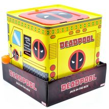 Entertainment Earth SDCC 2019 Exclusive Deadpool Retro Style Jack-in-the-Box image 4