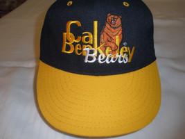 NCAA UC Berkeley Cal Bears Blue Snapback Hat Rare Upright Bear Design - $23.19