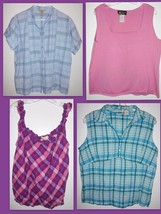 Bob Mackie, Woolrich, OP, St. John's Bay Shirts X-LARGE - Lot of 4 Tops - $19.79