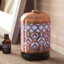 Better Homes & Gardens Antique Copper Tabriz Mist Ultrasonic Aroma Diffu... - €39,38 EUR