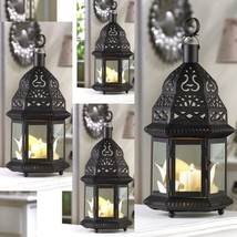 "Lot of 4 Moroccan Lantern Candleholder Wedding Centerpieces 12"" Tall - $39.55"