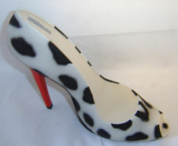 Leopard Stilleto Shoe Money Bank Durable