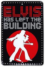 Elvis Fans Parking Sign (Has Left the Building) - $13.14