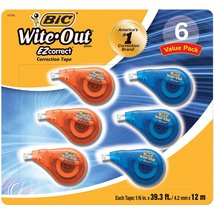 BIC America Wite Out Correction Tape - $13.21