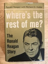 Ronald Reagan Inscribed Autograph 7/27/65 Where's the Rest of Me Signed - $1,107.84