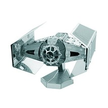 Fascinations Metal Earth Star Wars OT Darth Vader's Tie Fighter - $12.82