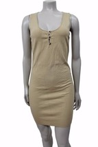 Tocca khaki sleeveless knit sleeveless sweater ... - $15.58