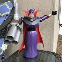 """Disney Store Exclusive Toy Story Deluxe 14"""" Talking Emperor Zurg Figure ... - $44.54"""