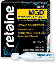 Ocusoft Retaine MGD ophthalmic emulsion 30 count  FREE shipping - $18.59