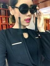 Retro Sunglasses Women Baroque Pearl Tassel Rhinestone Beach Vintage Big... - $23.99
