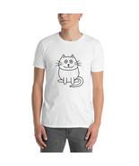 Short-Sleeve Unisex T-Shirt - Cat cartoon - ₹1,319.55 INR+