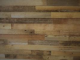 EAST COAST RUSTIC Reclaimed Barn Wood Wall Panels - Easy Install Rustic ... - $223.03
