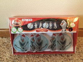 New Set Of Ten Christmas Disney Frozen Olaf Battery Operated Lights - $7.91
