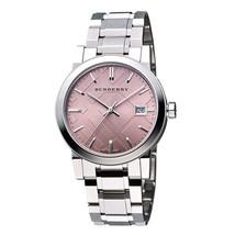Burberry BU9124 The City Pink Dial Bracelet Watch - 34 mm - Warranty - $305.00