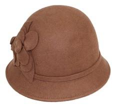 Nine West Women's Felt Self Flower Cloche Hat - $17.33